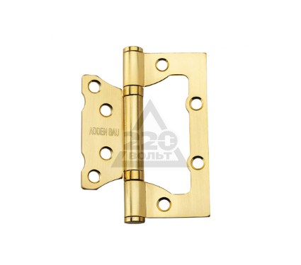 Петля ADDEN BAU 100X75X2.5 BUT SATIN GOLD
