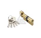 Цилиндровый механизм ADDEN BAU CYL 5-60 KNOB GOLD