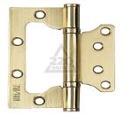 Петля дверная накладная BUSSARE B020-U 100X75X2.5-2BB-1SG