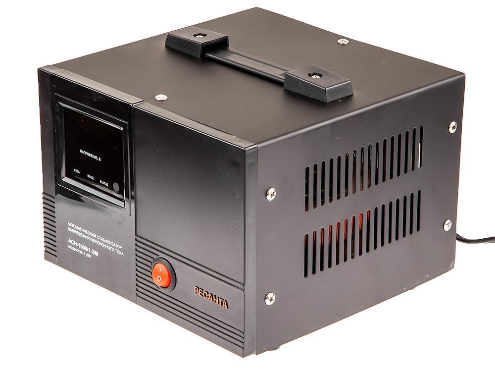 Стабилизатор напряжения РЕСАНТА АСН-1000/1-ЭМ стабилизатор ресанта асн 9000 3 эм