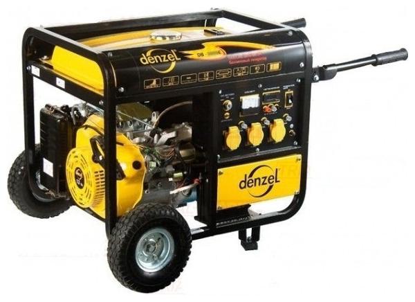 Бензиновый генератор Denzel Db5000Е генератор бензиновый patriot srge 3500