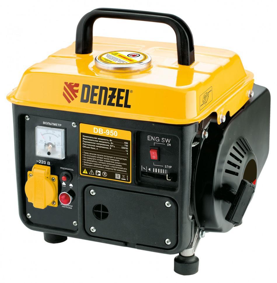 Бензиновый генератор Denzel Db950 бензиновый генератор firman rd8910e1