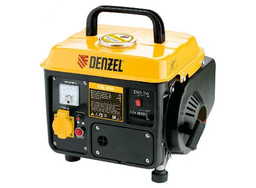 Бензиновый генератор DENZEL DB950