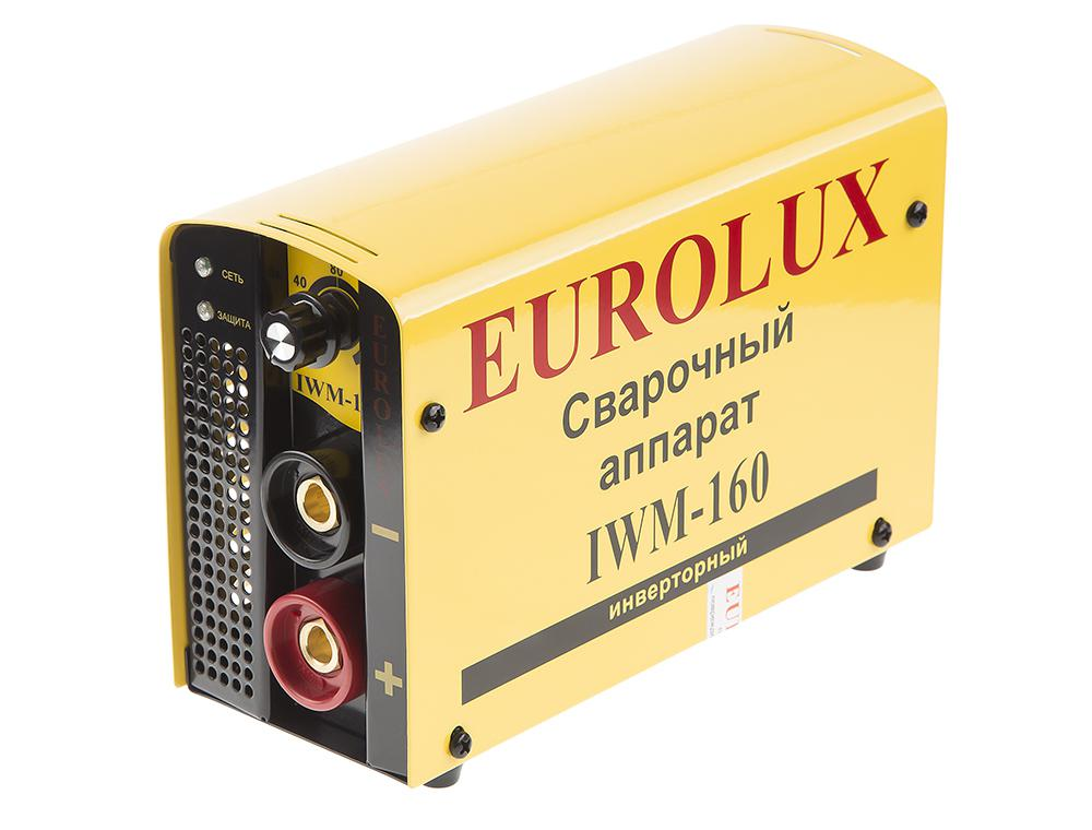 Сварочный аппарат Eurolux Iwm160 инверторный сварочный аппарат eurolux iwm 160