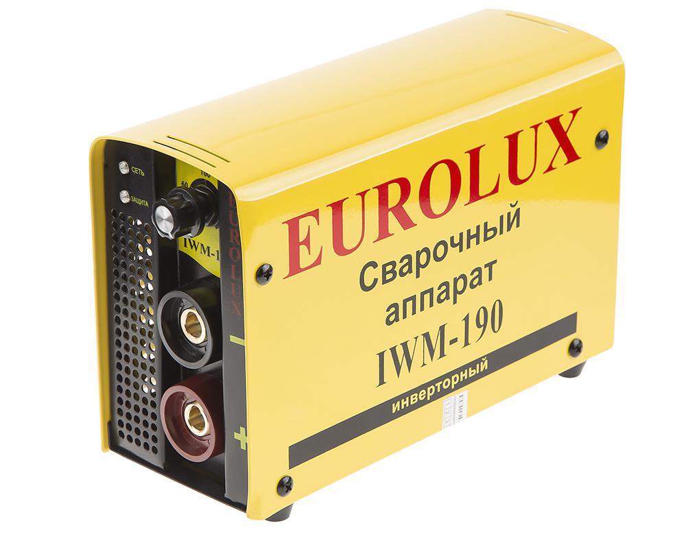 Сварочный аппарат Eurolux Iwm190 инверторный сварочный аппарат eurolux iwm 160