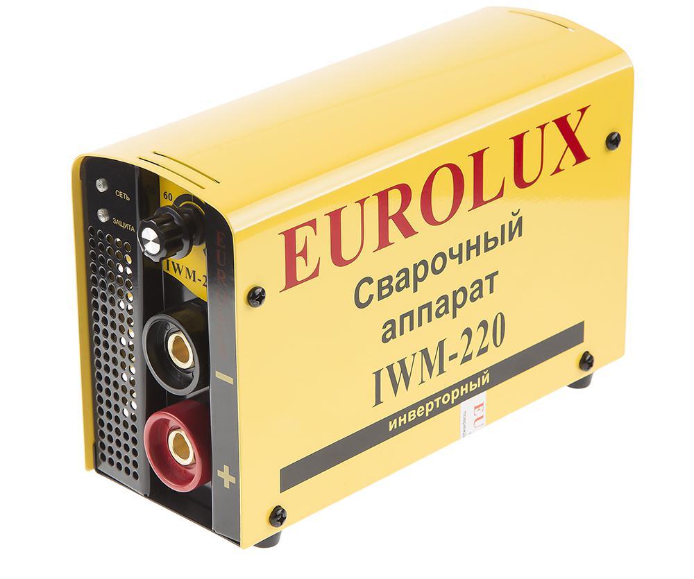 Сварочный аппарат Eurolux Iwm220 аппарат сварочный eurolux iwm250 инверторный