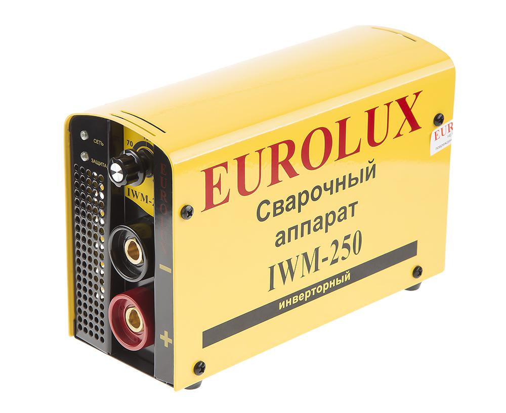 Сварочный аппарат Eurolux Iwm250 аппарат сварочный eurolux iwm250 инверторный