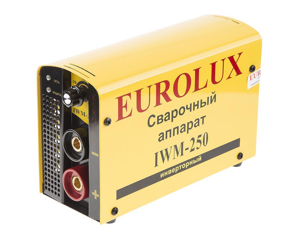 Сварочный аппарат Eurolux Iwm250 цена и фото