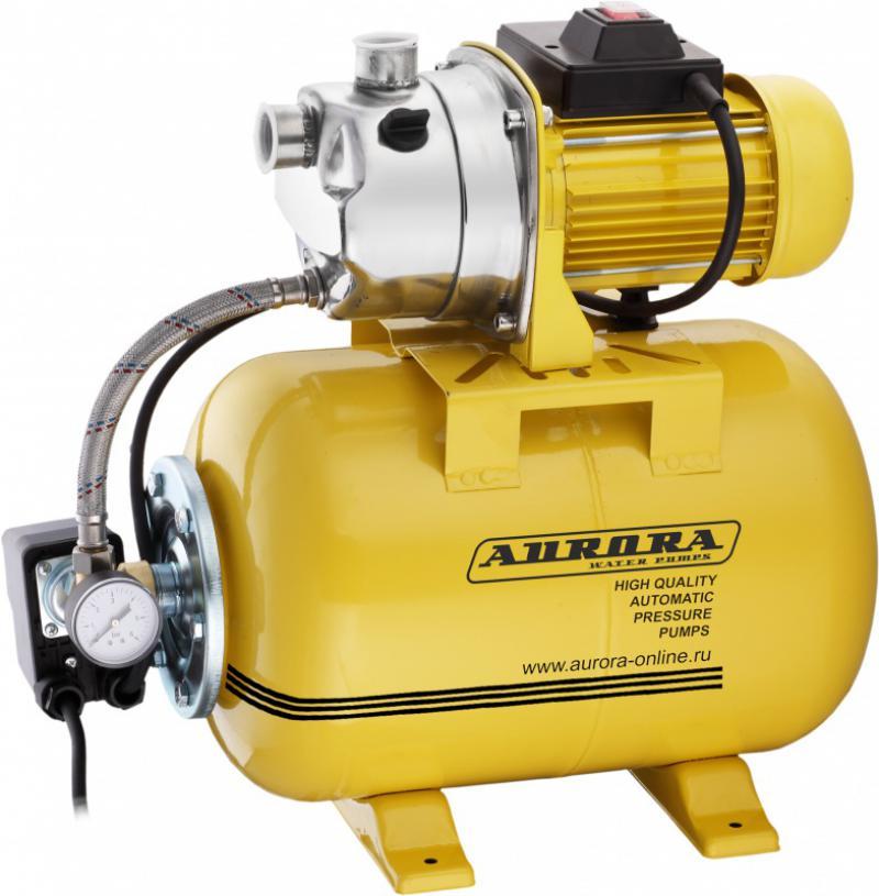 Насосная станция Aurora Agp 1200-25 inox садовый насос aurora agp 1300 multi 5p
