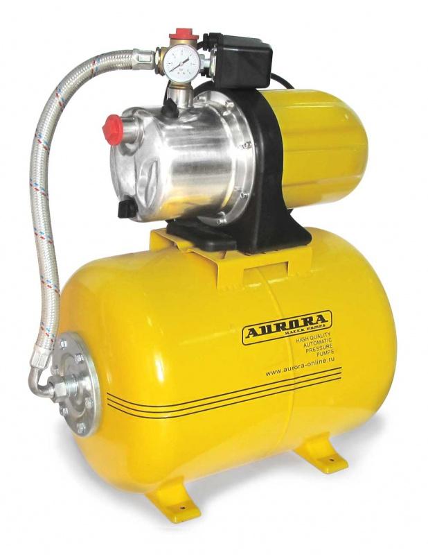 Насосная станция Aurora Agp 1500-50 inox-4p скважинный насос aurora adp 1500 perfect