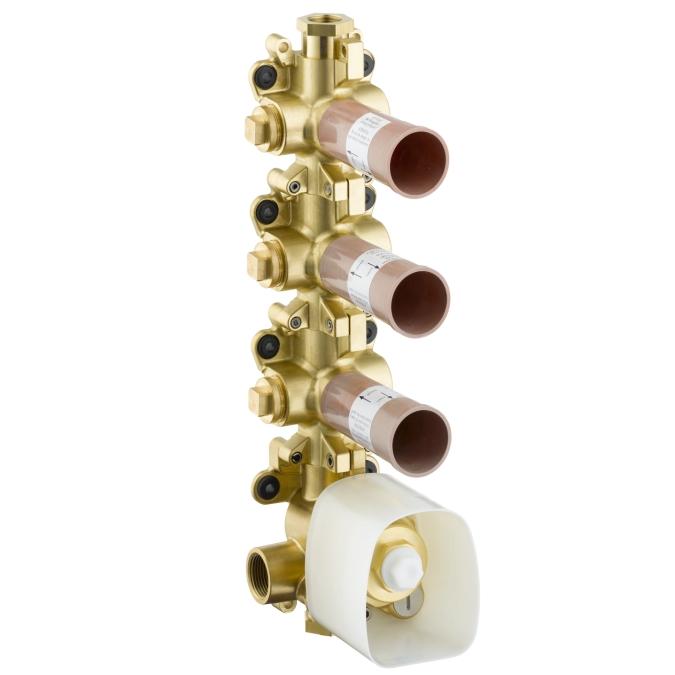 Cмеситель термостатический Axor 10750180 axor термостатaxor starck 12410000 для ванны с душем