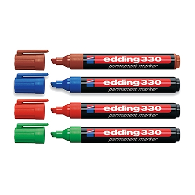 Маркер EddingРазметочный инструмент<br>Тип: маркеры, Цвет: синий<br>