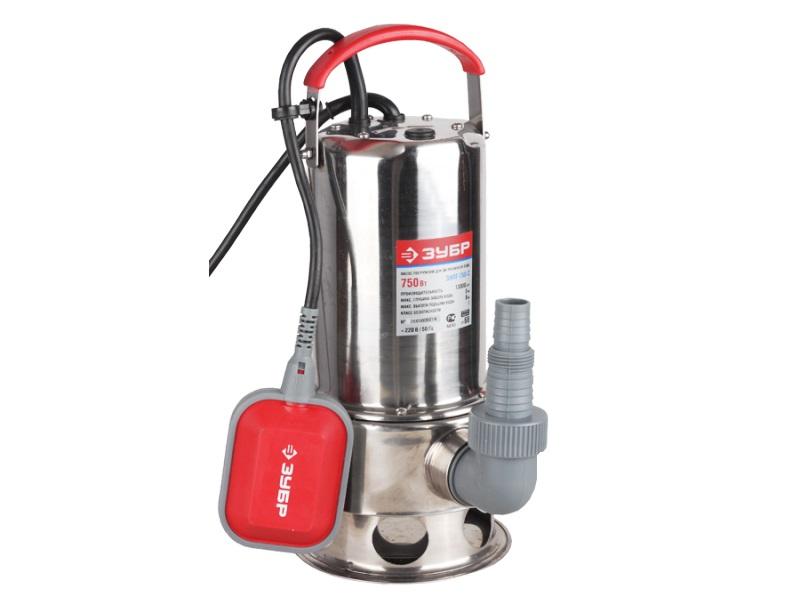 Дренажный насос ЗУБР ЗНПГ-750-С насос для скважины