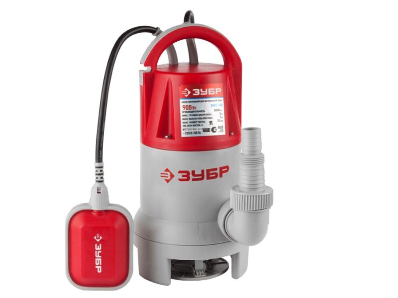 Дренажный насос ЗУБР ЗНПГ-900 погружной дренажный насос зубр знпг 550 с
