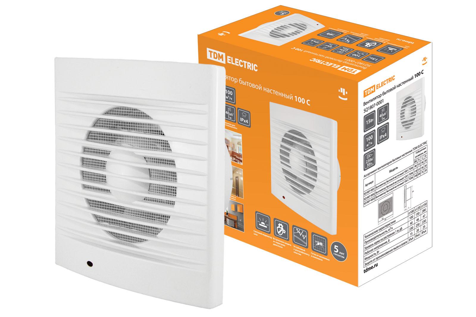 Вентилятор Tdm Вентилятор tdm sq1807-0001