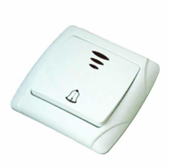 Кнопка для звонка Tdm Sq1805-0008 крепление для светильника е27 tdm фсп sq0334 0008