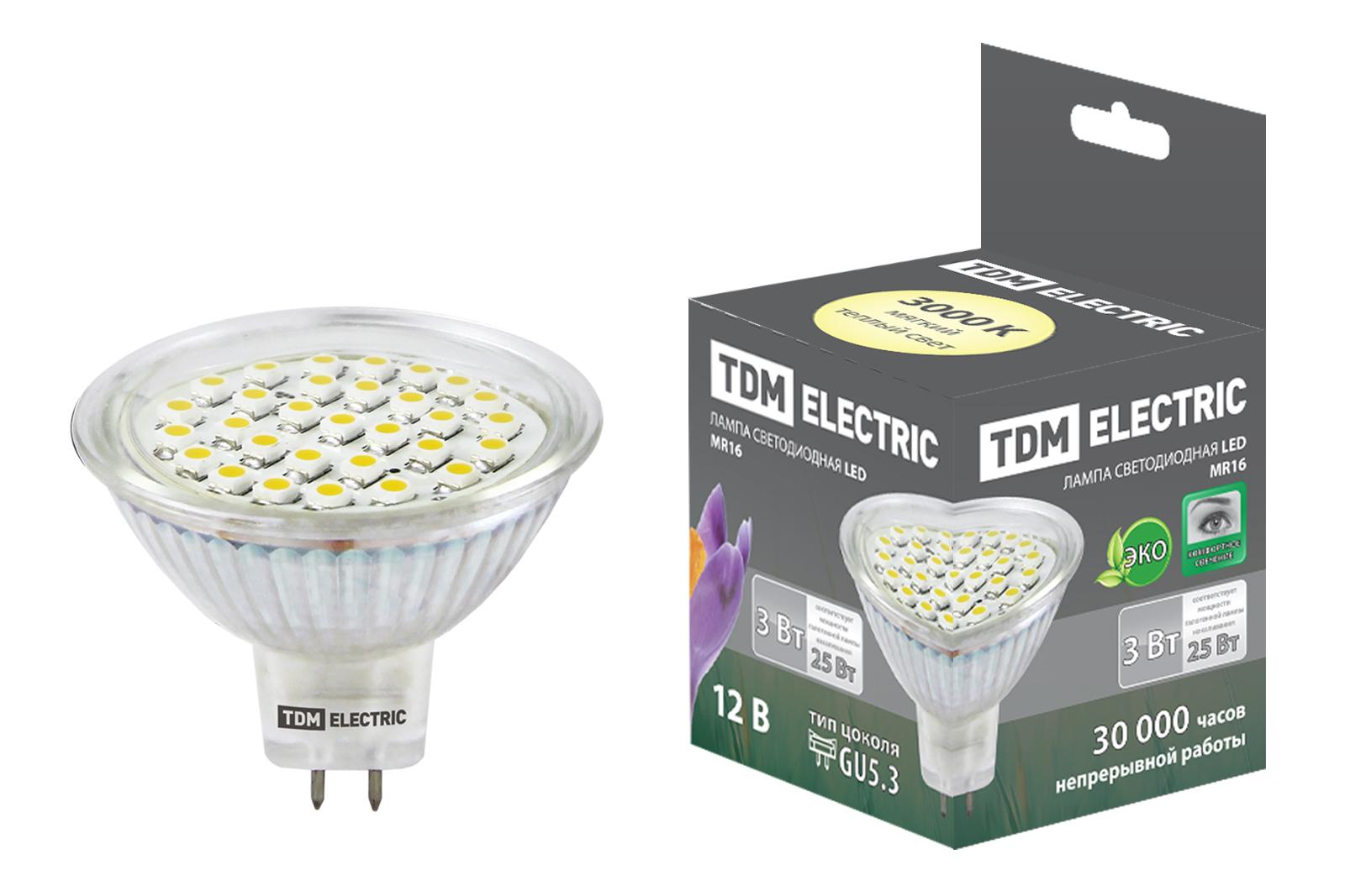 Лампа светодиодная Tdm Sq0340-0005