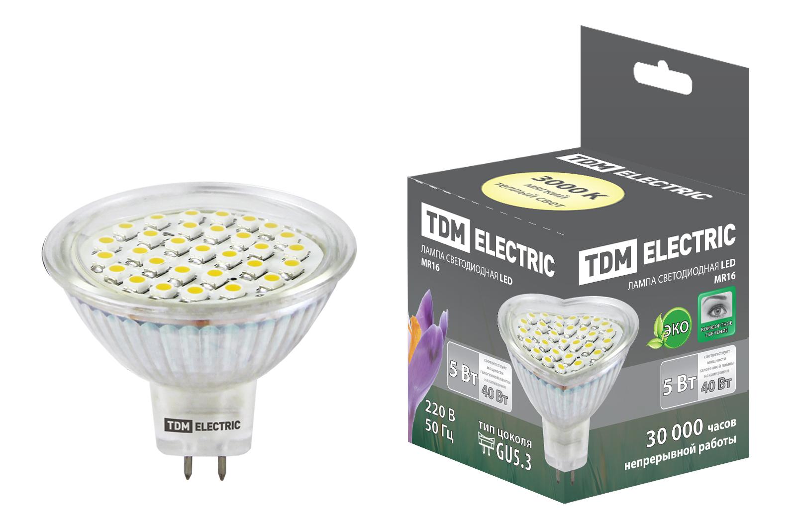 Лампа светодиодная Tdm Sq0340-0023