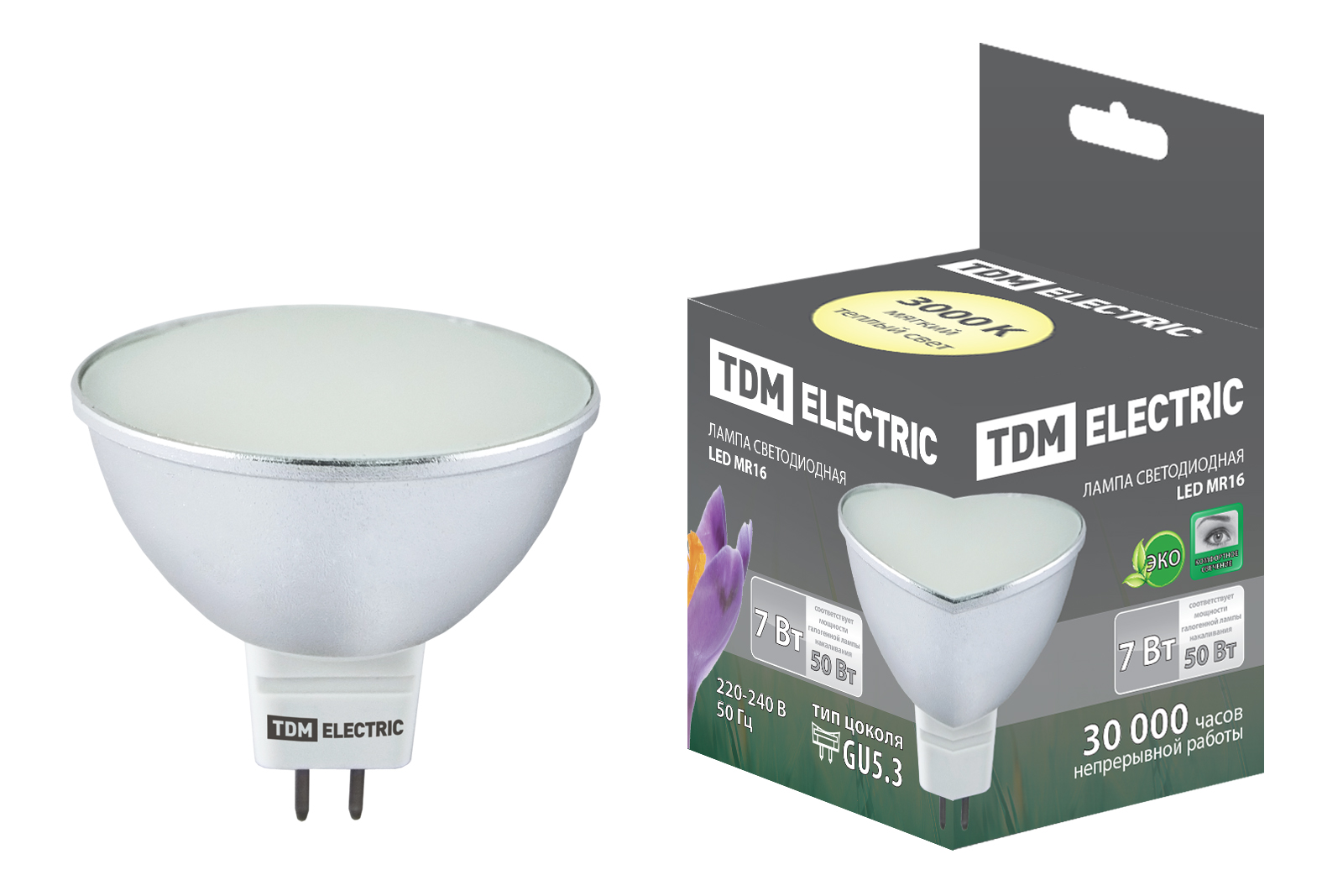 Лампа светодиодная Tdm Sq0340-0062