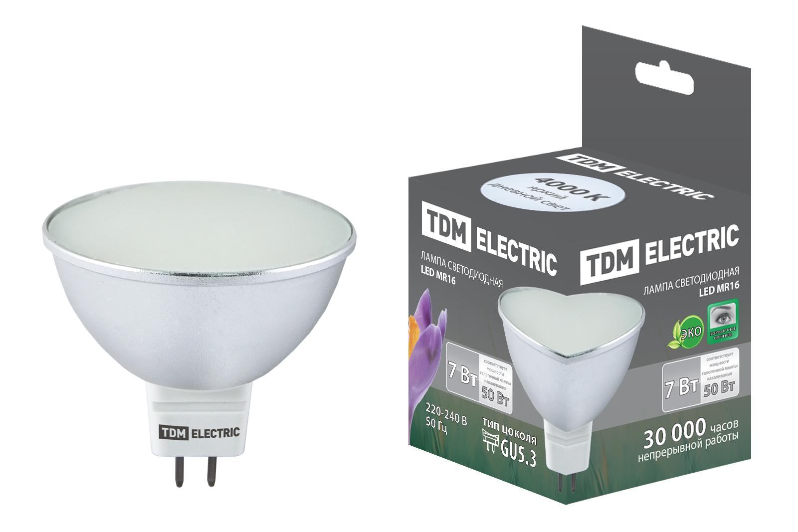 Лампа светодиодная Tdm Sq0340-0063