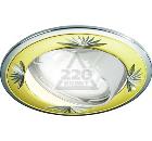 Светильник встраиваемый TDM СВ 02-04 MR16 золото/хром