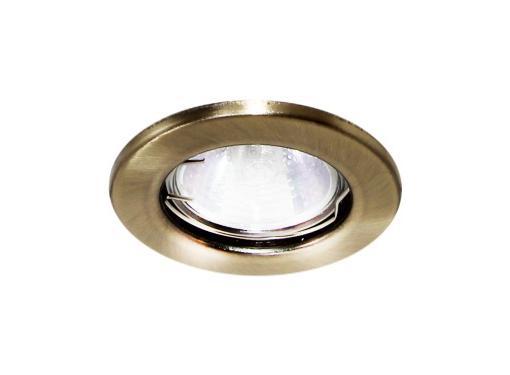 Светильник встраиваемый TDM СВ 01-01 MR16 Бронза