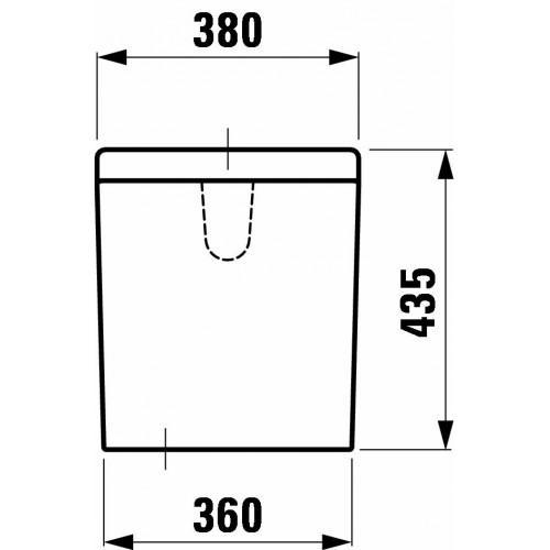 Бачок для унитаза Laufen 2868.3.000.291.1 lb3 от 220 Вольт