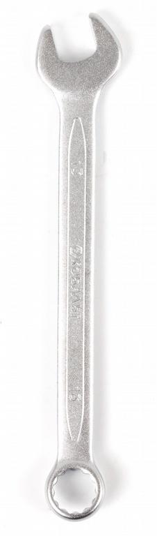 Ключ гаечный комбинированный КОБАЛЬТ 642-883 (13 мм) ключ комбинированный kraft 14 мм кт 700508