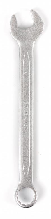 Ключ гаечный комбинированный КОБАЛЬТ 642-890 (14 мм) ключ комбинированный kraft 14 мм кт 700508