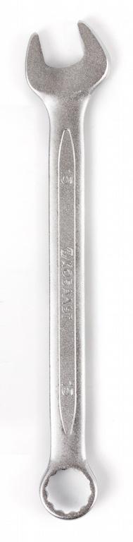 Ключ гаечный комбинированный КОБАЛЬТ 642-906 (15 мм) ключ комбинированный kraft 14 мм кт 700508