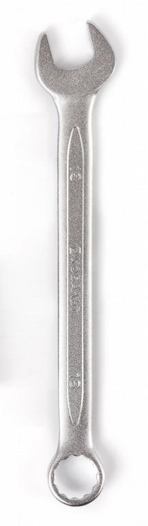 Ключ гаечный комбинированный КОБАЛЬТ 642-937 (18 мм) ключ комбинированный kraft 14 мм кт 700508