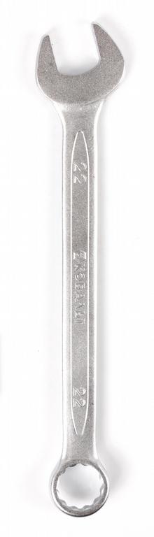 Ключ гаечный комбинированный КОБАЛЬТ 642-968 (22 мм) ключ комбинированный кобальт 642 920 17 мм crv