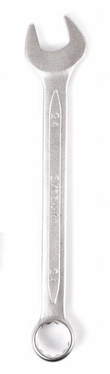 Ключ гаечный комбинированный КОБАЛЬТ 642-975 (24 мм) ключ гаечный комбинированный кобальт 642 968 22 мм