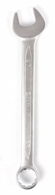 Ключ гаечный комбинированный КОБАЛЬТ 642-982 (27 мм) ключ гаечный комбинированный кобальт 642 968 22 мм