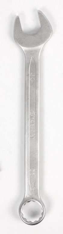 Ключ гаечный комбинированный КОБАЛЬТ 642-999 (30 мм) ключ гаечный комбинированный кобальт 642 968 22 мм