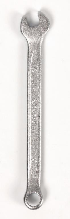 Ключ гаечный комбинированный КОБАЛЬТ 642-814 (6 мм) ключ комбинированный kraft 14 мм кт 700508