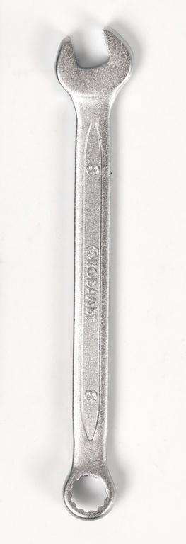 Ключ гаечный комбинированный КОБАЛЬТ 642-838 (8 мм) ключ гаечный комбинированный kraft кт 700550 8 17 мм