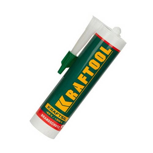 Герметик силиконовый Kraftool 41259 герметик kraftool силиконовый белый санитарный 300 мл 41255 0