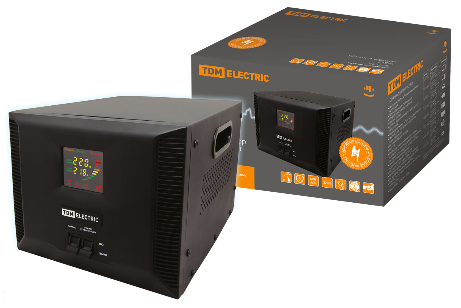 Стабилизатор напряжения Tdm Sq1201-0006