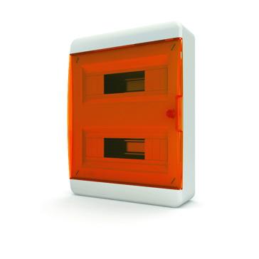 Бокс TekforЩиты электрические, боксы<br>Тип: бокс,<br>Тип установки: навесной,<br>Материал: пластик,<br>Степень защиты от пыли и влаги: IP 40,<br>Использование: в помещении,<br>Высота: 385,<br>Ширина: 290,<br>Глубина: 102,<br>Окно: есть,<br>Клеммник: есть,<br>DIN рейка: две,<br>Количество модулей: 24<br>