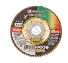 Круг Лепестковый Торцевой (КЛТ) ЛУГА-АБРАЗИВ КЛТ2 125 Х 22 Р 40 (№40)