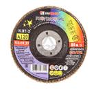 Круг Лепестковый Торцевой (КЛТ) ЛУГА-АБРАЗИВ КЛТ2 125 Х 22 Р120 (№12)
