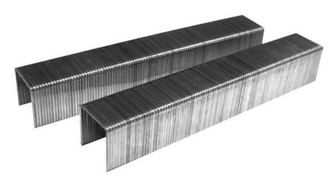 Скобы для степлера Biber 85819 степлер matrix 40907 мебельный пластиковый скобы тип 53 68мм