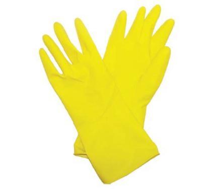 Латексные перчатки с х/б напылением BIBER 96274