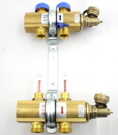 Коллектор Watts Hkv/t-2