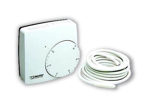 Терморегулятор WATTS WFHT-DUAL белый