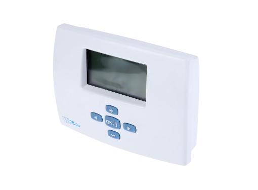 Терморегулятор WATTS Milux Weekly белый