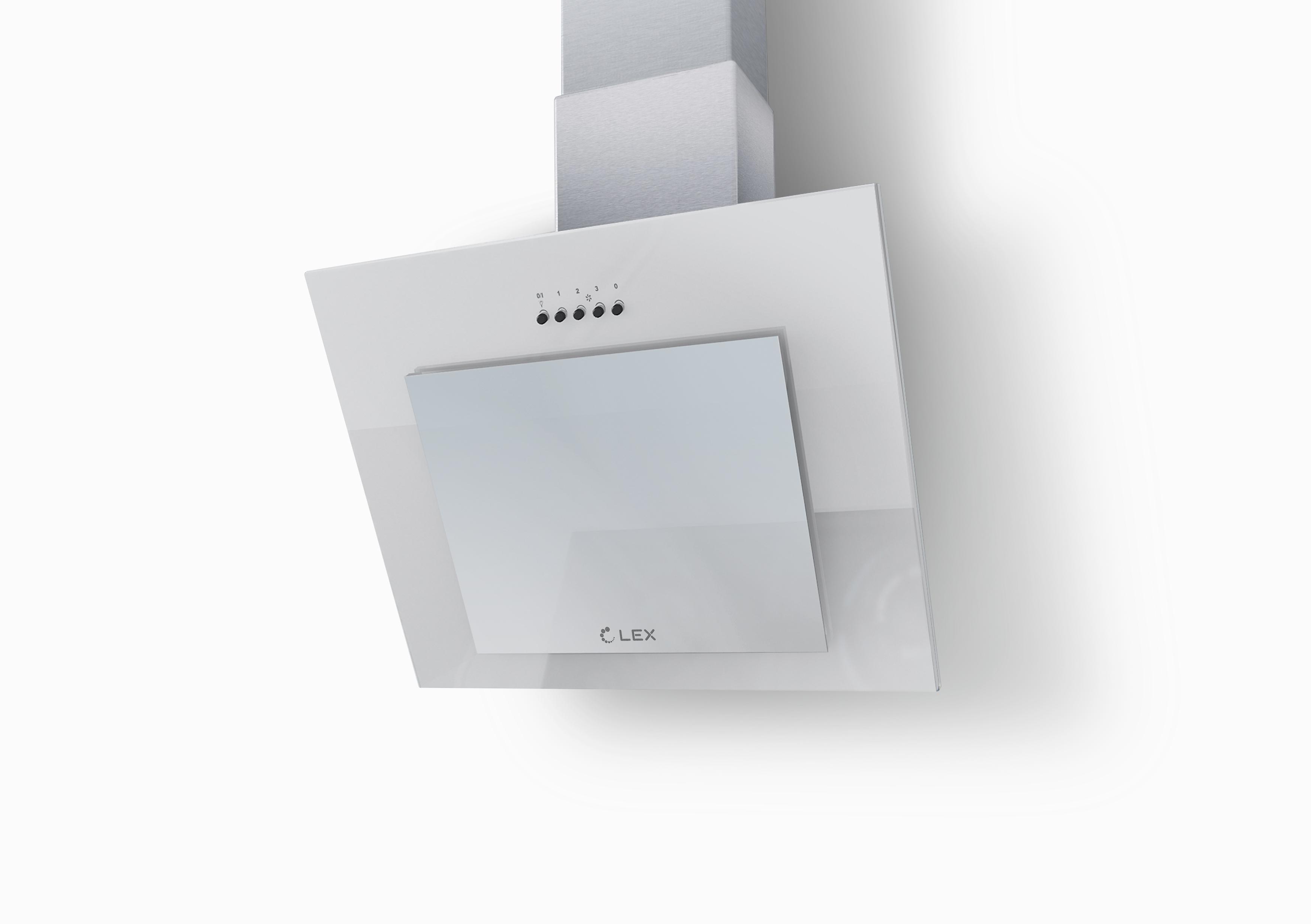 Вытяжка Lex Mini 500 white уровень stabila тип 80аm 200 см 16070