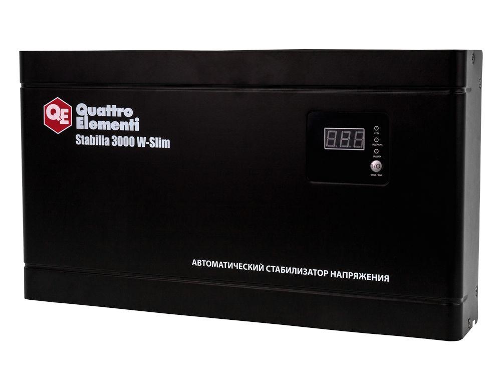 цена на Стабилизатор напряжения Quattro elementi Stabilia 3000 w-slim