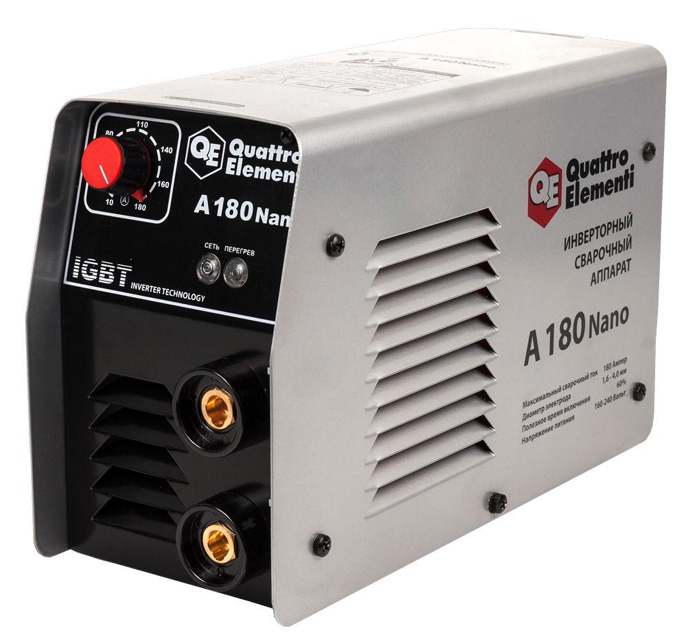 Сварочный аппарат Quattro elementi А-180 nano держатель электрода quatro elementi 200a